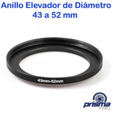 Anillo Elevador de diámetro de 43 a 52 mm