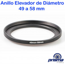 Anillo Elevador de diámetro de 49 a 58 mm