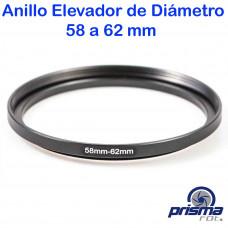 Anillo Elevador de diámetro de 58 a 62 mm