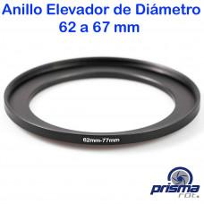 Anillo Elevador de diámetro de 62 a 77 mm