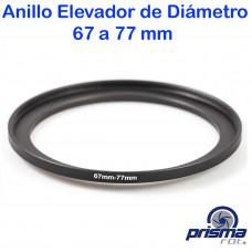 Anillo Elevador de diámetro de 67 a 77 mm