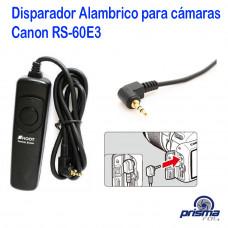DISPARADOR ALAMBRICO PARA CAMARAS CANON RS-60E3