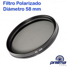 Filtro Polarizador de 58 mm