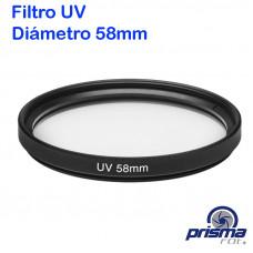 Filtro UV de 58 mm