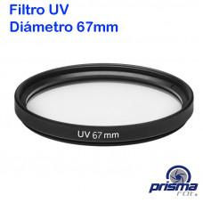 Filtro UV de 67 mm