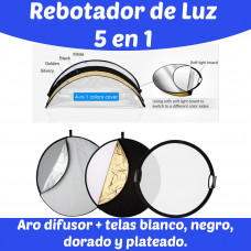 Rebotador de luz 115 cm